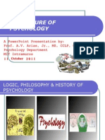 1. Nature of Psychology - An Introduction by Prof. a.v. Arias, Jr.
