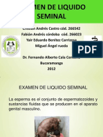 Examen Liquido Seminal