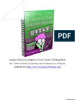 Literary Devices to Improve Your Creative Writing Style