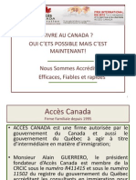 Acces Canada PrEsentation Power Point