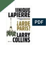 _Arde Paris _ - Dominique Lapierre LARRY COLLINS