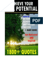 Achieve Your Full Potential – 1800 Inspirational Quotes