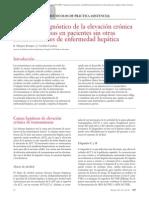 01.114 Protocolo diagnóstico de la elevación crónica de transaminasas en pacientes sin otras manifestaciones de enfermedad hepática