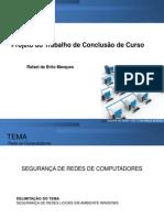 Projeto de TCC - Rafael de Brito Marques