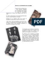 Historia de La Fotorgrafia en Colombia