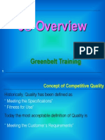 Green Belt Training