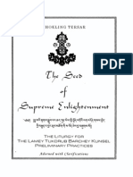Chokling Tersar - Seed of Supreme Enlightenment