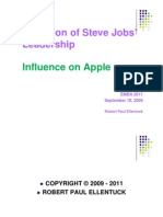 Steve Jobs Final Presentation - Robert Paul Ellentuck