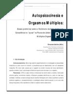 Autopsicocinesia Orgasmos Multiplos
