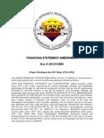 UCC Financing Statement Amendment - 2012132883