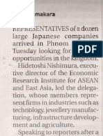 Japanese Firms Seek Business Options