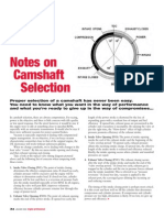 Notes on Camshaft Selection - Gary Lewis