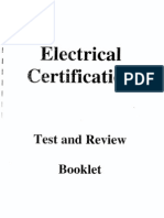 Electrical Certification Test.PDF