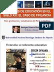 EducacionSigloXXI Finlandia EHB