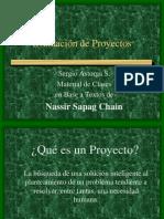 Evaluación de Proyectos Materia