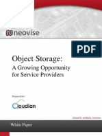 Object Storage Growth Opportunity for Service Providers