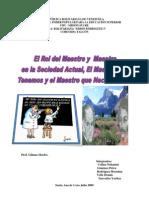 Informe El Rol Del Maestro y La Maestra en La Sociedad Actual