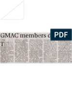 GMAC Members Doubled