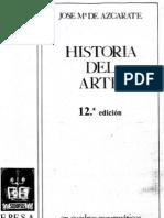 06xc Azcarate Historia Del Arte