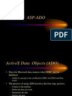 ActiveX Data Objects in ASP