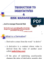Derivative & Risk Management
