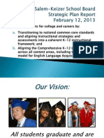 February Strategic Plan Ccr Board Presentation
