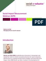 Social Evaluator Webinar Presentation
