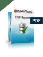 DBF File Repair Software