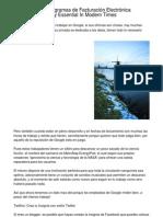 Current Market Announcement   Programas de Facturación Electrónica Understood To Be A Necessity Right Now.20130220.231810