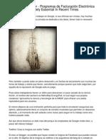 Trade Report   Programas de Facturación Electrónica Thought As Essential This Afternoon.20130220.231819