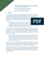 GENERALIDADES DE INGENIERIA ECONÓMICA