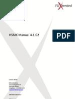 HSMX Manual v4.1.02