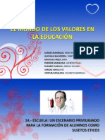 EL MUNDO DE LOS VALORES EN LA EDUCACIÓN.pptx