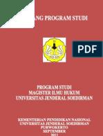 BORANG-PROGRAM-STUDI-MAGISTER-ILMU-HUKUM-UNSOED-2011.doc