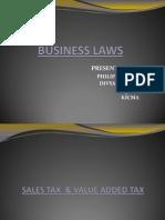 Sales Tax & VAT