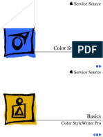 Apple Color StyleWriter Pro Service Source