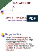 Blok 3.1 Afektif Psikotik