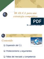III 1. El Comercio Exterior Para Una Estrategia Competitiva