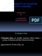 Machinability of Titanium Alloys-A Review