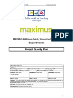 Contoh4. Project Quality Plan