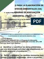 Clase 1 Lineamientos Marn Elaboracion Da y Ppa 2012