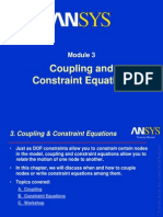 Coupling in ansys
