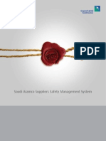 Saudi Aramco Suppliers Safety Management System (SSMS)