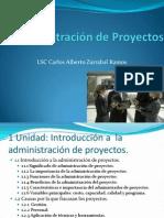 Unidad 1 Administracion de Proyectos