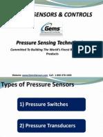 GemsSensors & Controls Pressure Sensors