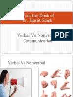 VerbalVsNon-VerbalCommunication.ppt