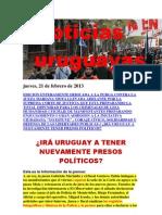 Noticias Uruguayas Jueves 21 de Febrero Del 2013