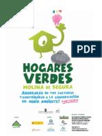 Cartel Hogares Verdes Molina de Segura