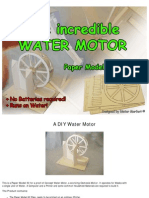 ...the Incredible WATER MOTOR Kit...