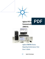 E6621-90005-Agilent N6070A Series Signaling Conformance Test Users Guide